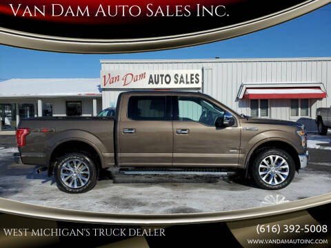 2015 Ford F-150 for sale at Van Dam Auto Sales Inc. in Holland MI