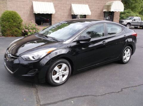 2011 Hyundai Elantra for sale at Depot Auto Sales Inc in Palmer MA