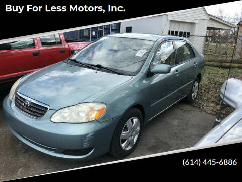2005 Toyota Corolla for sale at Buy For Less Motors, Inc. in Columbus OH