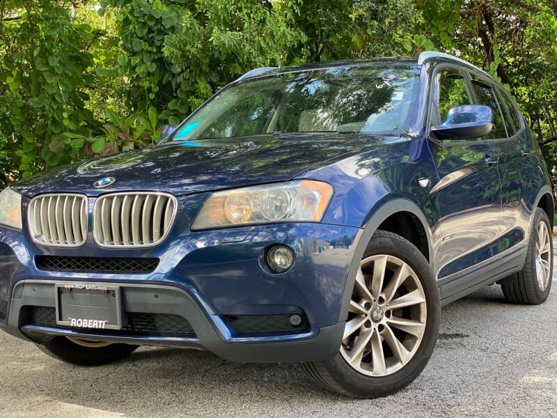 2014 BMW X3 for sale at HIGH PERFORMANCE MOTORS in Hollywood FL