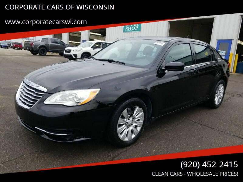 2014 Chrysler 200 for sale at CORPORATE CARS OF WISCONSIN - DAVES AUTO SALES OF SHEBOYGAN in Sheboygan WI