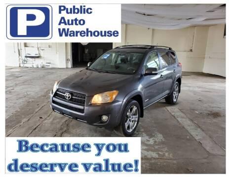 2012 Toyota RAV4 for sale at Public Auto Warehouse in Pekin IL