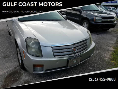 2004 Cadillac CTS for sale at GULF COAST MOTORS in Mobile AL