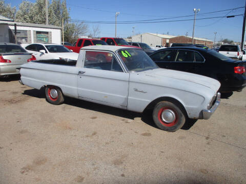 1961 Ford Ranchero for sale at BUZZZ MOTORS in Moore OK