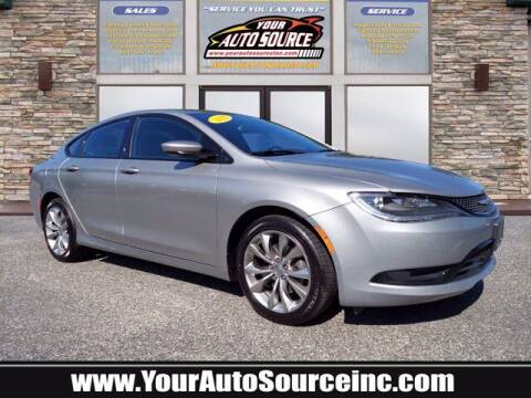 2015 Chrysler 200 for sale at Your Auto Source in York PA
