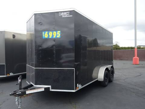 2021 Look Cargo Trailers LSCAA7.0X14TE2FC for sale at Siamak's Car Company llc in Salem OR
