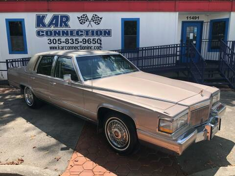 1992 Cadillac Brougham for sale at Kar Connection in Miami FL