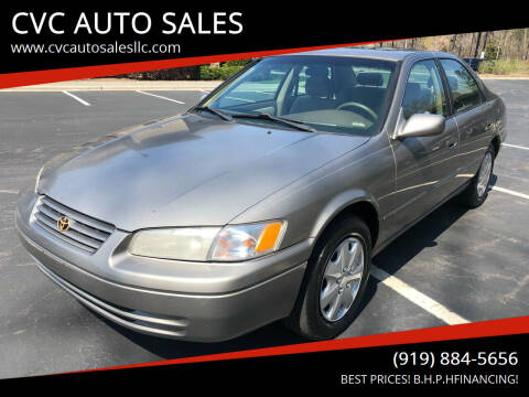 1998 Toyota Camry for sale at CVC AUTO SALES in Durham NC