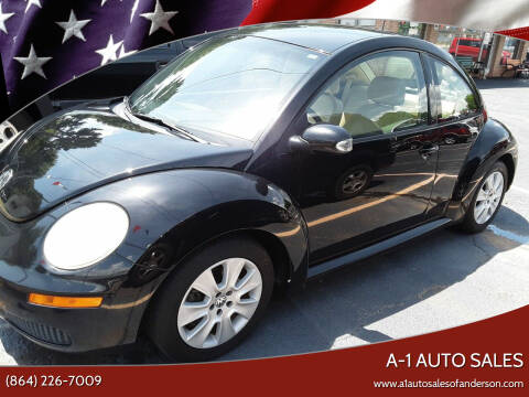 2008 Volkswagen New Beetle for sale at A-1 Auto Sales in Anderson SC