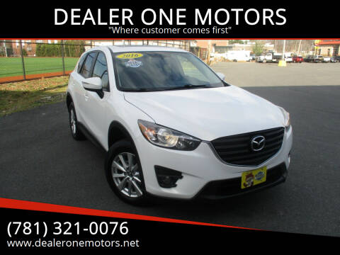 2016 Mazda CX-5 for sale at DEALER ONE MOTORS in Malden MA