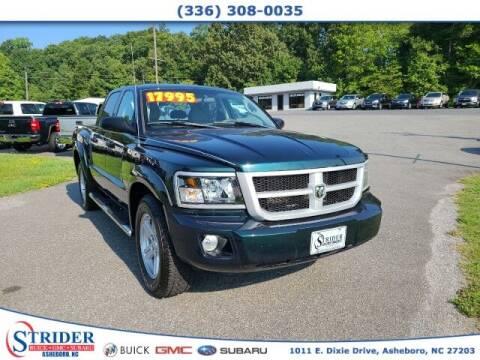 2011 RAM Dakota for sale at STRIDER BUICK GMC SUBARU in Asheboro NC