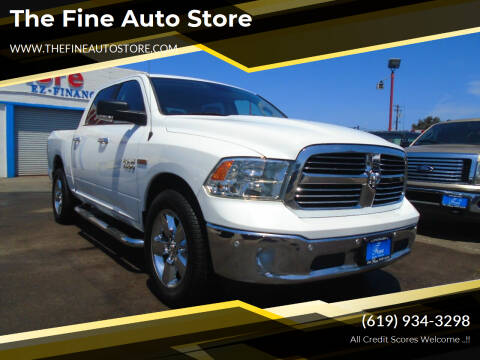 2017 RAM Ram Pickup 1500 for sale at The Fine Auto Store in Imperial Beach CA