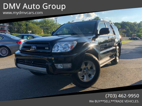 2003 Toyota 4Runner for sale at DMV Auto Group in Falls Church VA