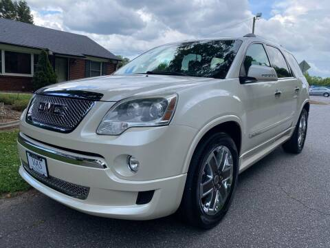2012 GMC Acadia for sale at Viewmont Auto Sales in Hickory NC