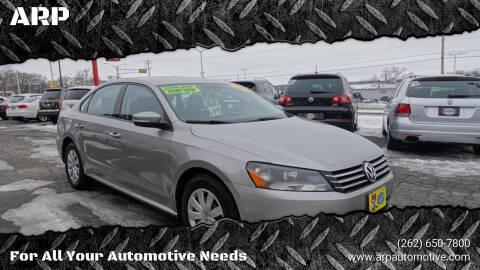 2013 Volkswagen Passat for sale at ARP in Waukesha WI