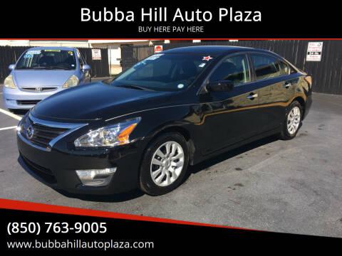 2015 Nissan Altima for sale at Bubba Hill Auto Plaza in Panama City FL