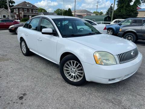 2007 Mercury Montego for sale at Integrity Auto Sales in Brownsburg IN