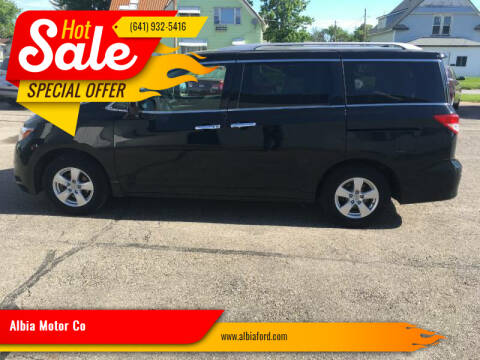 2017 Nissan Quest for sale at Albia Motor Co in Albia IA