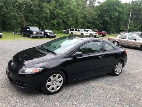 2010 Honda Civic for sale at J.W. Auto Sales INC in Flemington NJ