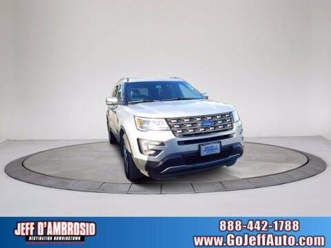 2017 Ford Explorer for sale at Jeff D'Ambrosio Auto Group in Downingtown PA