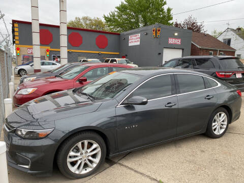 2016 Chevrolet Malibu for sale at Matthew's Stop & Look Auto Sales in Detroit MI