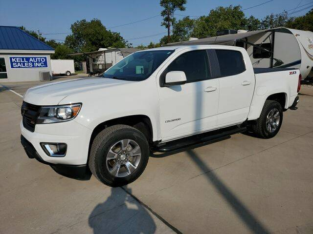 2018 Chevrolet Colorado for sale at Kell Auto Sales, Inc - Grace Street in Wichita Falls TX
