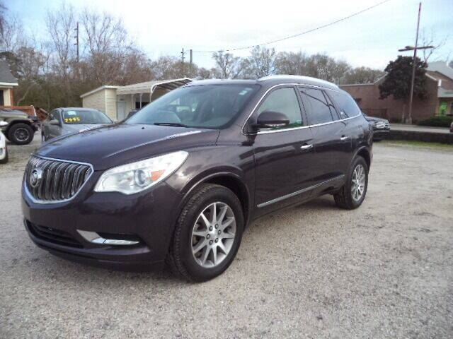 2015 Buick Enclave for sale at PICAYUNE AUTO SALES in Picayune MS