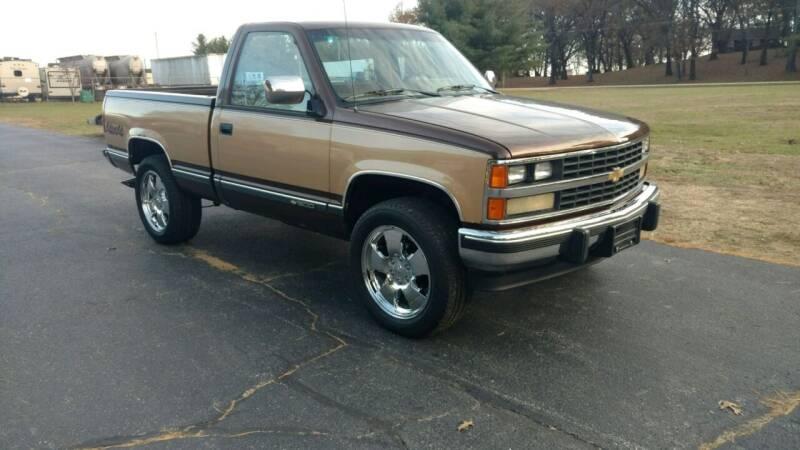 1988 Chevrolet C/K 1500 Series for sale at Advantage Auto Sales & Imports Inc in Loves Park IL