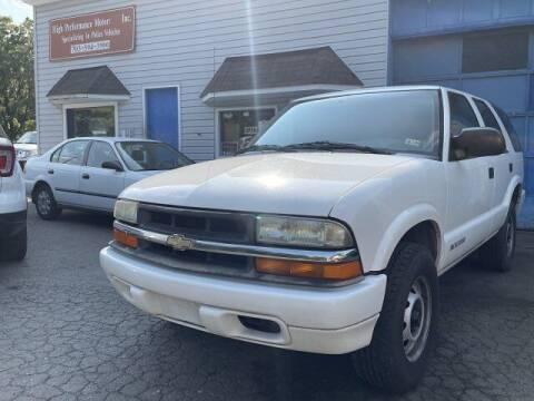 2005 Chevrolet Blazer for sale at High Performance Motors in Nokesville VA
