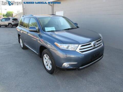 2012 Toyota Highlander for sale at TWIN RIVERS CHRYSLER JEEP DODGE RAM in Beatrice NE
