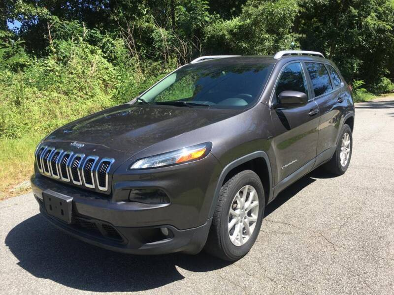 2015 Jeep Cherokee for sale at Speed Auto Mall in Greensboro NC