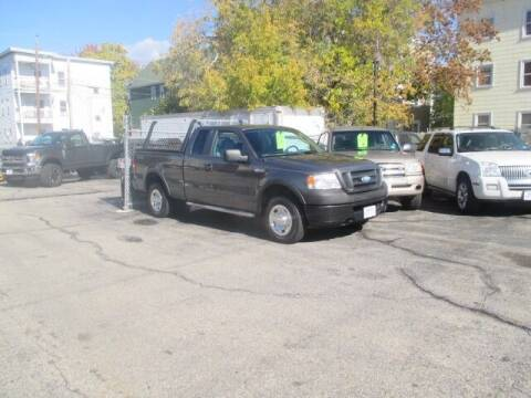 2007 Ford F-150 for sale at MERROW WHOLESALE AUTO in Manchester NH