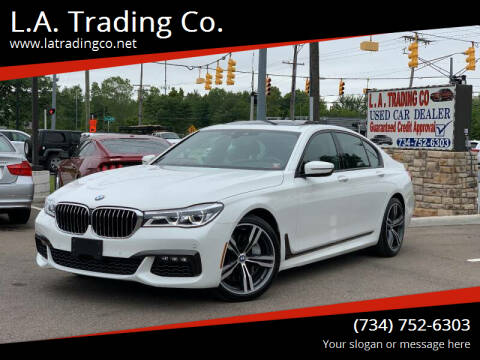 2019 BMW 7 Series for sale at L.A. Trading Co. Detroit - L.A. Trading Co. Woodhaven in Woodhaven MI
