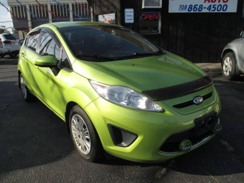 2011 Ford Fiesta for sale at EZ Finance Auto in Calumet City IL
