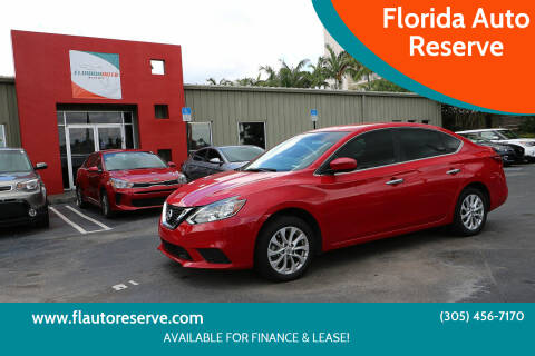 2018 Nissan Sentra for sale at Florida Auto Reserve in Medley FL