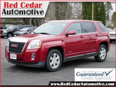 2014 GMC Terrain for sale at Red Cedar Automotive in Menomonie WI