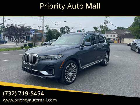 2019 BMW X7 for sale at Mr. Minivans Auto Sales - Priority Auto Mall in Lakewood NJ