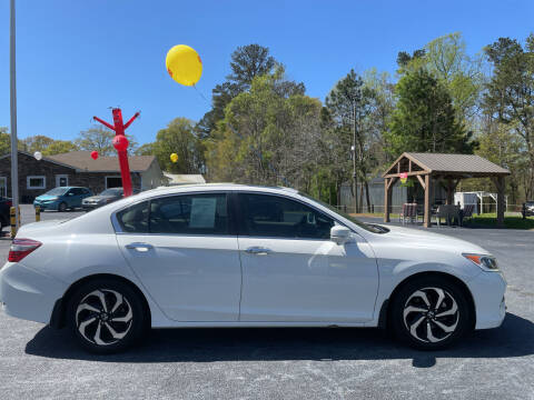 2017 Honda Accord for sale at No Full Coverage Auto Sales in Austell GA