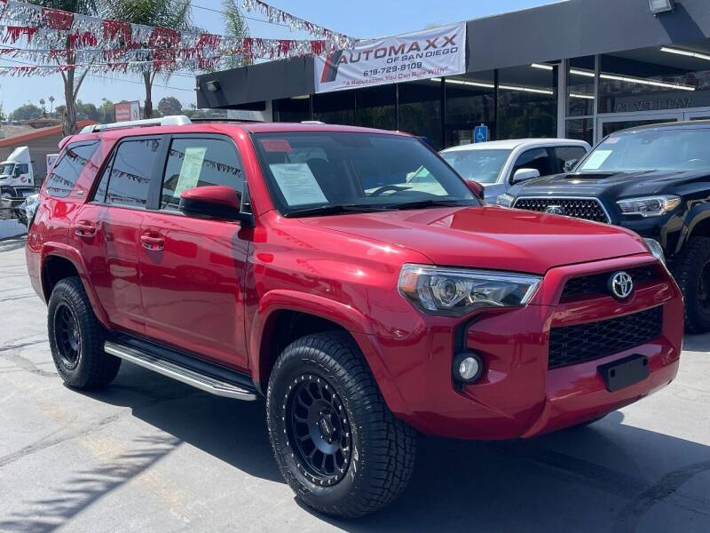 2017 Toyota 4Runner for sale at Automaxx Of San Diego in Spring Valley CA