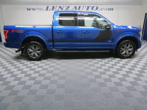 2017 Ford F-150 for sale at LENZ TRUCK CENTER in Fond Du Lac WI