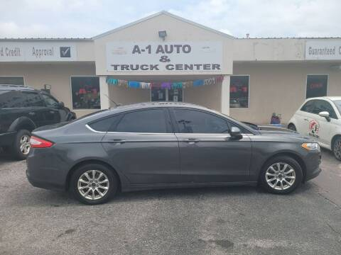 2015 Ford Fusion for sale at A-1 AUTO AND TRUCK CENTER in Memphis TN