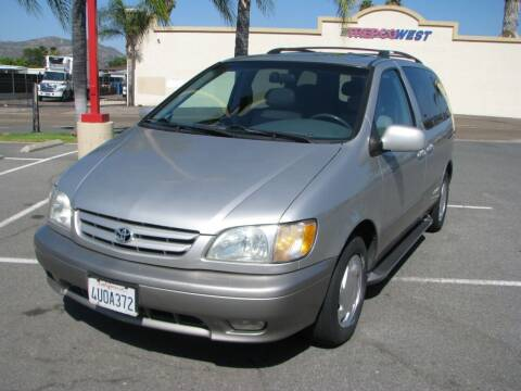 2002 Toyota Sienna for sale at M&N Auto Service & Sales in El Cajon CA