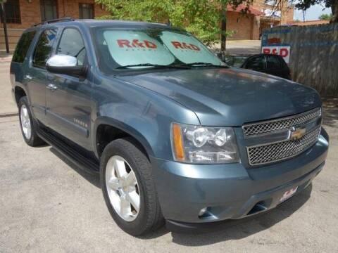 2008 Chevrolet Tahoe for sale at R & D Motors in Austin TX