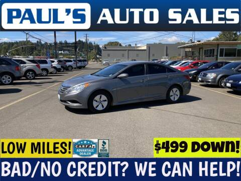 2014 Hyundai Sonata for sale at Paul's Auto Sales in Eugene OR