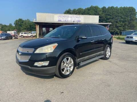 2009 Chevrolet Traverse for sale at Greenbrier Auto Sales in Greenbrier AR