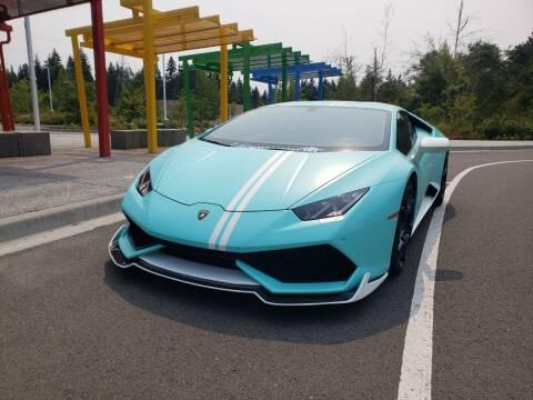 2015 Lamborghini Huracan for sale at Painlessautos.com in Bellevue WA