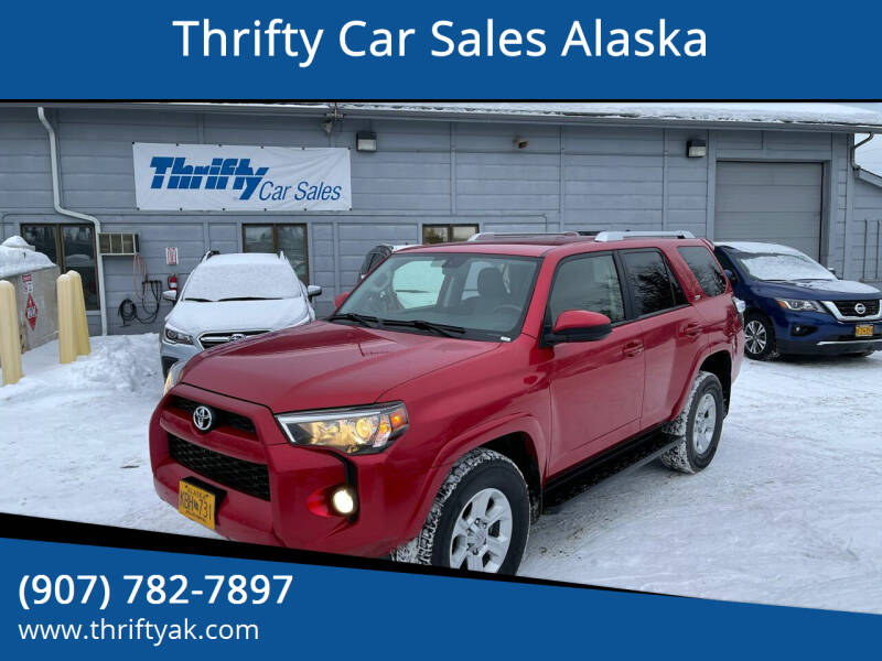 2017 Toyota 4Runner for sale at Thrifty Car Sales Alaska in Anchorage AK