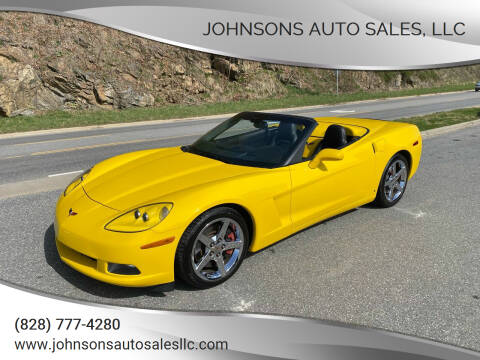 2007 Chevrolet Corvette for sale at Johnsons Auto Sales, LLC in Marshall NC
