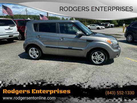 2011 Kia Soul for sale at Rodgers Enterprises in North Charleston SC