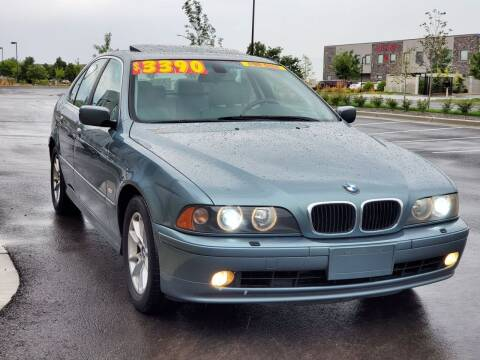 2003 BMW 5 Series for sale at FRESH TREAD AUTO LLC in Springville UT